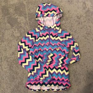 Ivivva lightweight raincoat - size 8
